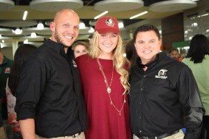 Taylor Hallmon will be a part of the Florida State University soccer program