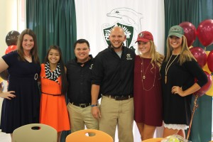Laney, Kiana, Dr. Wade, Brent, Taylor and Kenley